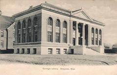 Cheyenne, WY Carnegie library, now demolished.