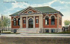 Miles City, MT Carnegie library