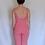 Thumbnail: Bela Comfort Set: Strappy Two-piece Jumpsuit & Robe