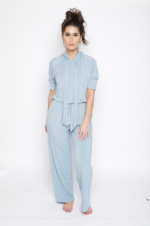 Bela Comfort Set:  Hooded Loungewear Top & Pants