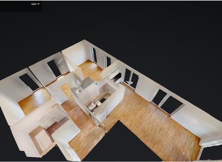 Wohnungen virtuell erleben heißt besser vermieten: 3D-Rundgänge in 4K-Qualität
