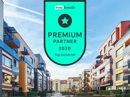 Ausgezeichnet: ImmoScout24 kürt moovin zum PremiumPartner