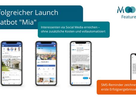 "Chatbot ""Mia"" übernimmt das Kommando auf Social Media-Kanälen"