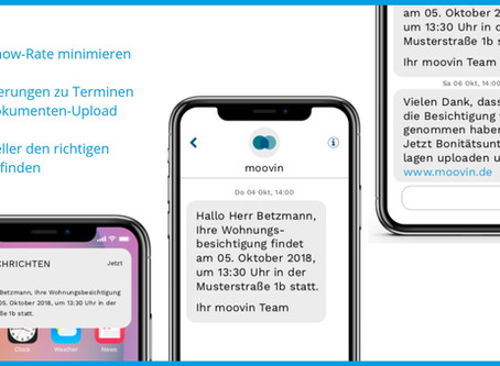 moovin launcht SMS-Reminder