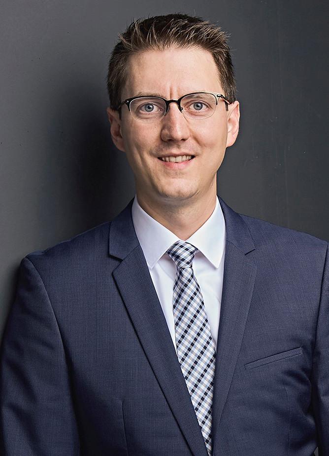 Dr. Tim Wolfer koordiniert als Projektleiter für funktionale Druckprozesse das gesamte Forschungsvorhaben.