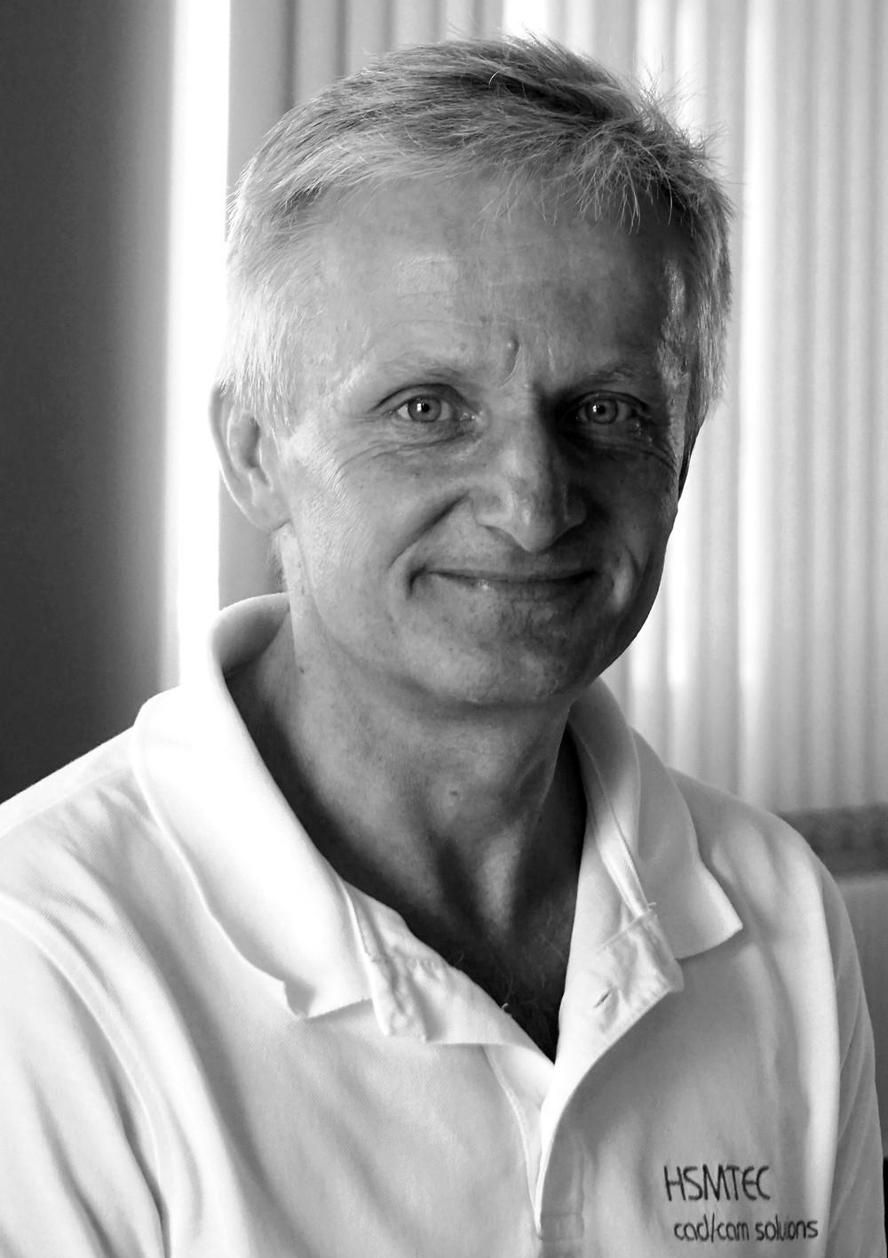 Thomas Schuster, Gründer und Geschäftsführer von HSMTEC, Spalt.