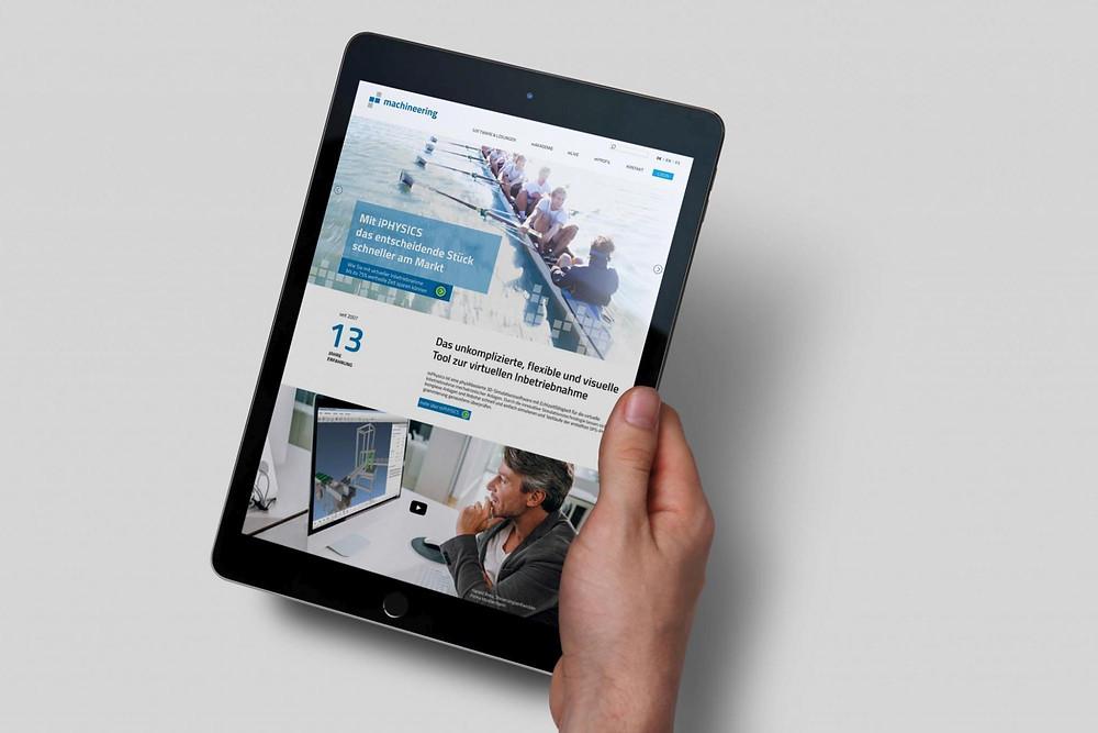 Die neue Webseite gibt Einblicke ins System in übersichtlicher Art und Weise.
