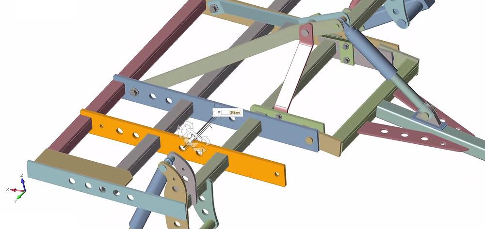 Mehrere Konstruktionsvarianten können in Altair Inspire einfach erstellt und verändert werden, ohne auf ein CAD-System zugreifen zu müssen.