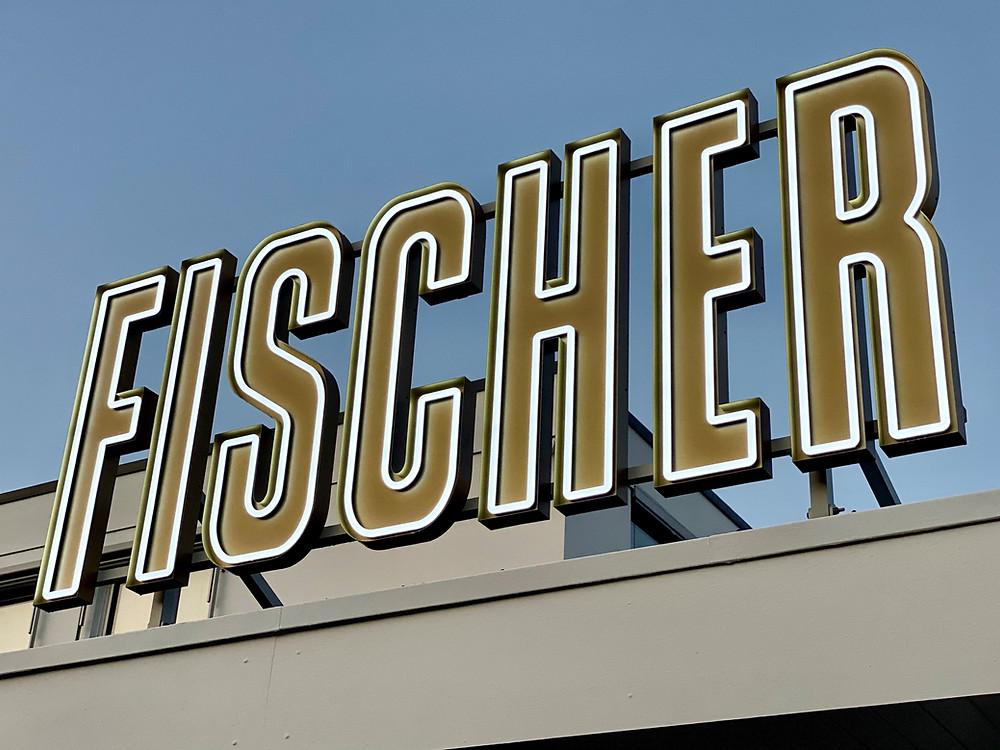 Der eigene Schriftzug begrüßt jeden Besucher in Mühlhausen schon von weitem.