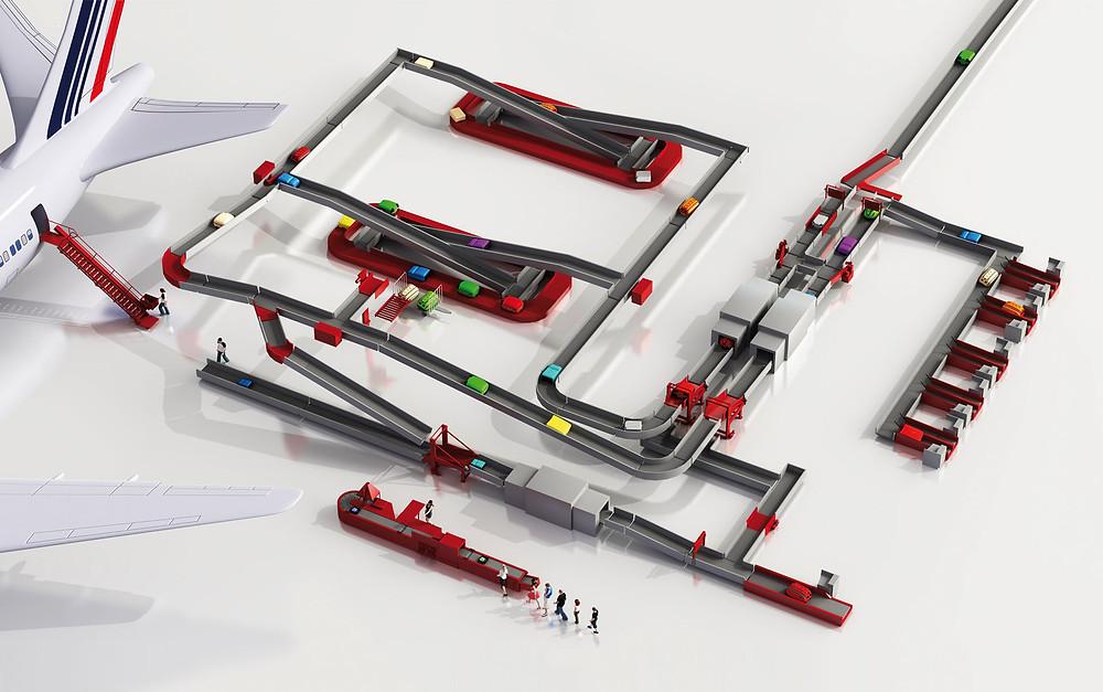Die motion06 ist spezialisiert auf die Entwicklung und Produktion von hochwertigen Maschinen und Komponenten zur Gepäckförderung, sowie zum Waren- und Materialfluss in der Intralogistik.