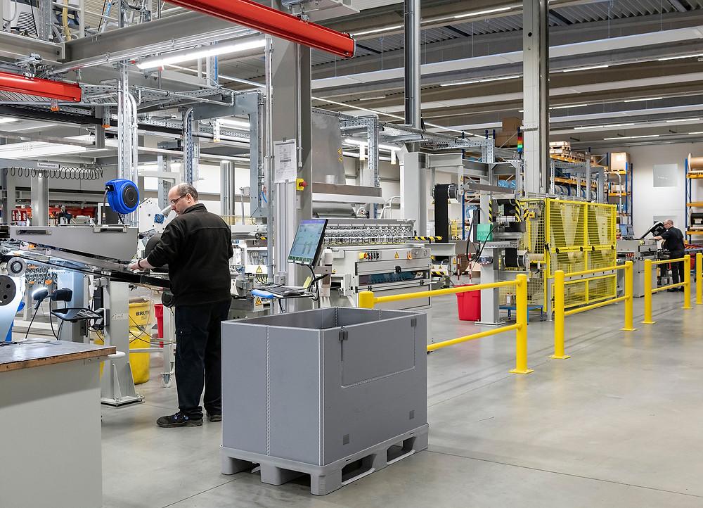 Um den Bedarf bei Goldwind zu decken, hat Continental in Dannenberg rund 2 Millionen Euro in eine neue Anlage investiert. Foto: Continental