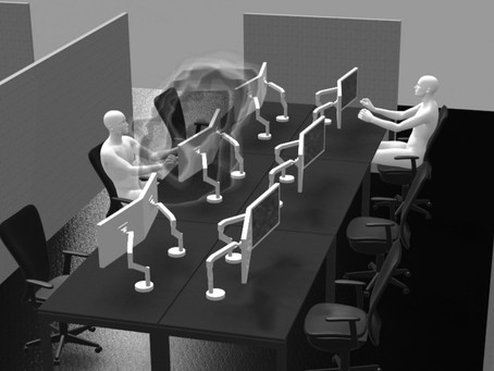 Tecosim: Simulation hilft Infektionsrisiko zu mindern
