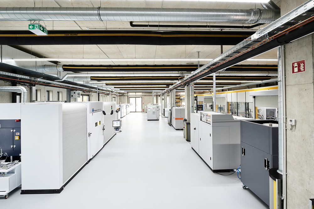 Ein Blick in die Werkstatt für die additive Fertigung bei Toolcraft.