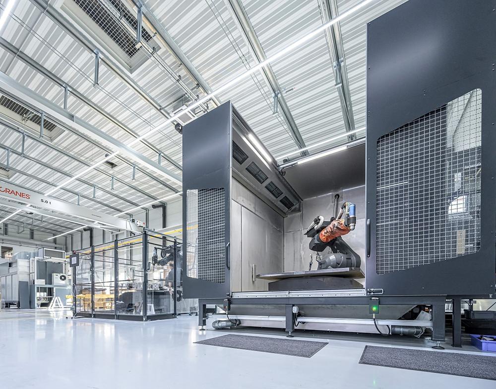 Auch das Thema Robotik ist eines der Kompetenzfelder des Unternehmens.
