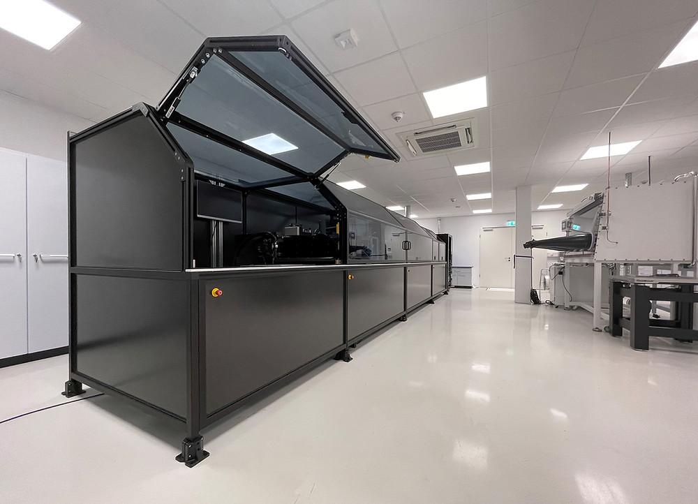 Continental hat seine Kompetenzen für funktionalen Druck in einem Technologiecenter mit modernstem Maschinenpark in Freiburg gebündelt.