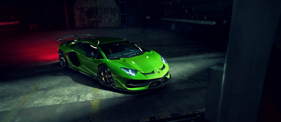 NOVITEC customiza el Lamborghini Aventador SVJ