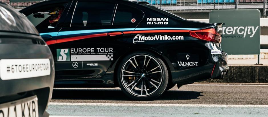 BMW M5 y Akrapovic, el combo del Europe Tour