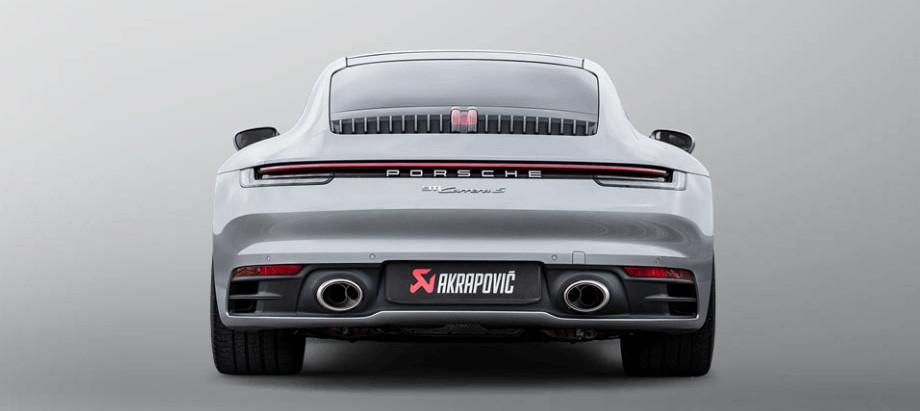 Akrapovič Porsche 911 Carrera (992)