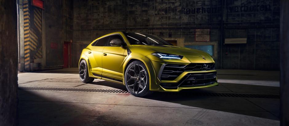 NOVITEC transforma el Lamborghini Urus para hacerlo todavía más apasionante