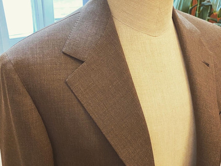 Summer Brown Suit.