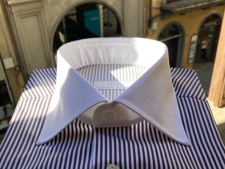 New shirts collar shape.
