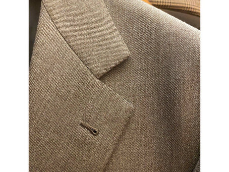 Dark Beige Suit/ London Shrank.