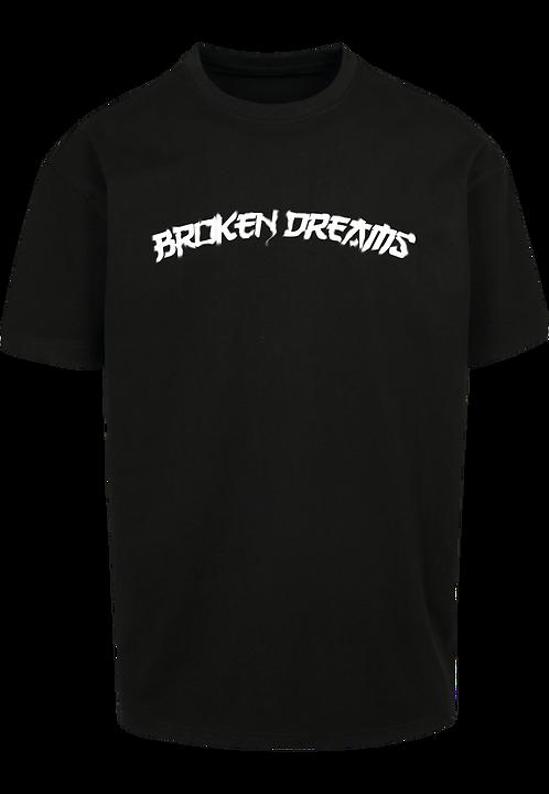 BROKEN DREAMS - OVERSIZE BLACK TEE