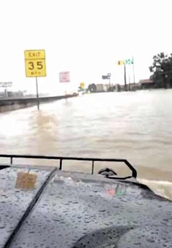 I-45 Hardy Toll Exit
