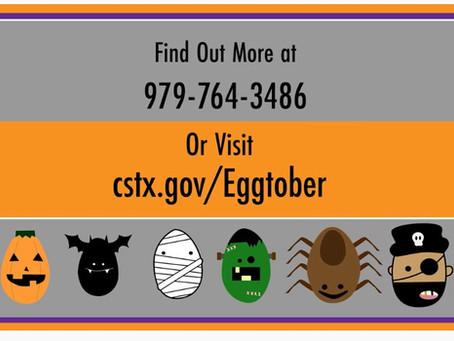 Eggtober ....! A fun way to do Halloween this year 🎃