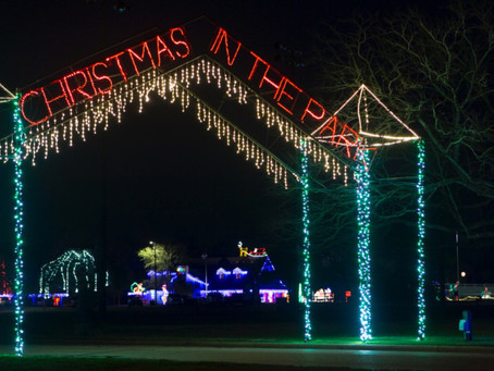 It's beginning to look a lot like Christmas In College Station at Stephen C. Beachy Central Park.