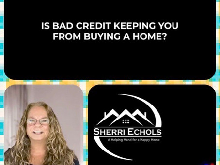 Tips on improving your credit score from Sherri Echols
