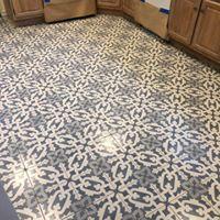 tile beautiful blue