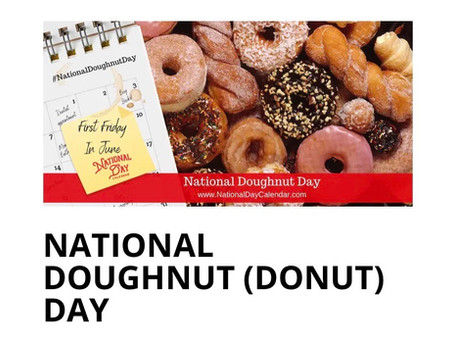 It's National Donut Day !