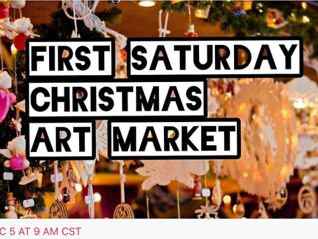 Amazing Outdoor Art Family Event.  Great for Christmas Shopping!
