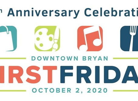 Enjoy tons of fun today at the First Friday in Down Town Bryan Texas.