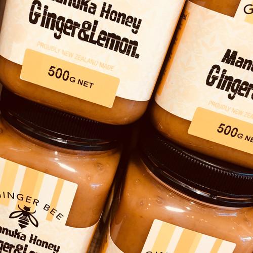 Manuka Honey Ginger Lemon 500g
