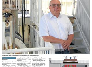 Einmal mehr berichtet eine dänische Zeitung genannt Søfart über HASYTEC DBP und HASYTEC Scandinavia