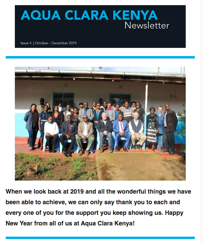 ACK Newsletter Q4 2019 - December