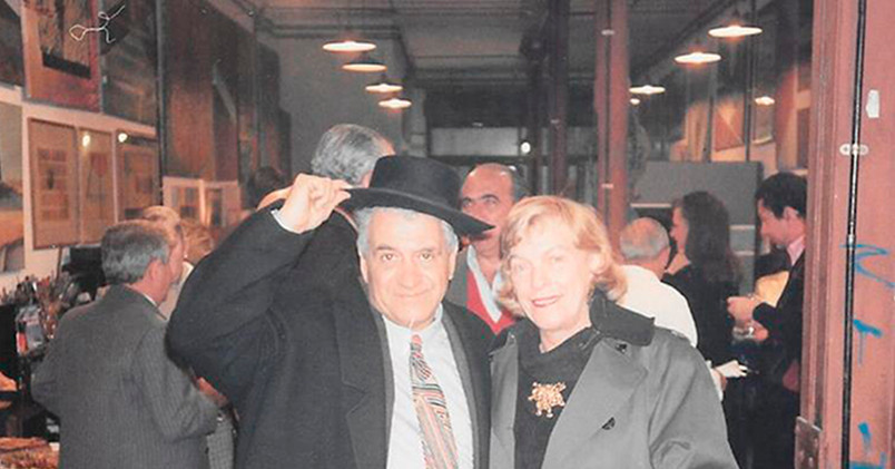 Pérez Célis en el taller de BUSSE