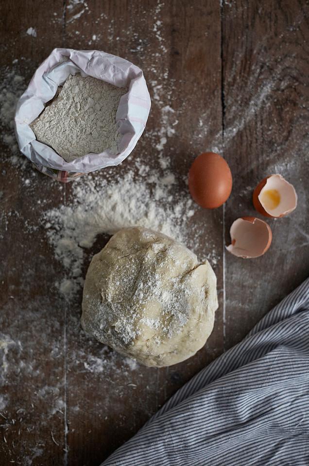 Food photography, baking, flour, eggs, food photographer Christina Bull