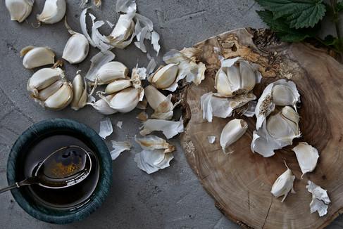 Garlic, atmosphere, food photographer Chrsitina Bull