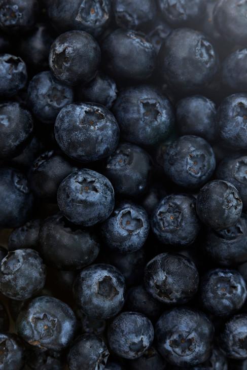Food photography, blueberries, food photographer Chrsitina Bull