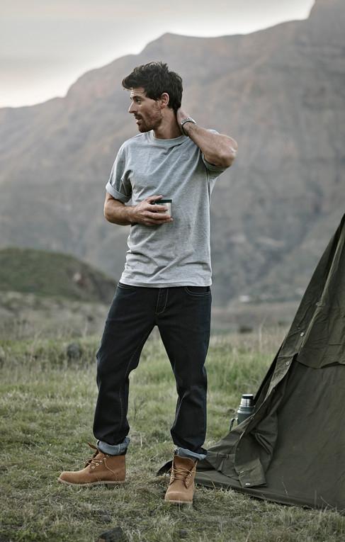 Bison mens fashion, outdoors fashion, mountains, gran canaria, tent, Photographer Christina Bull