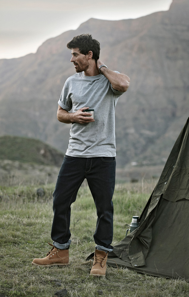 Bison mens fashion, outdoors fashion, mountains, gran canaria, tent, Photographer Christina Bull