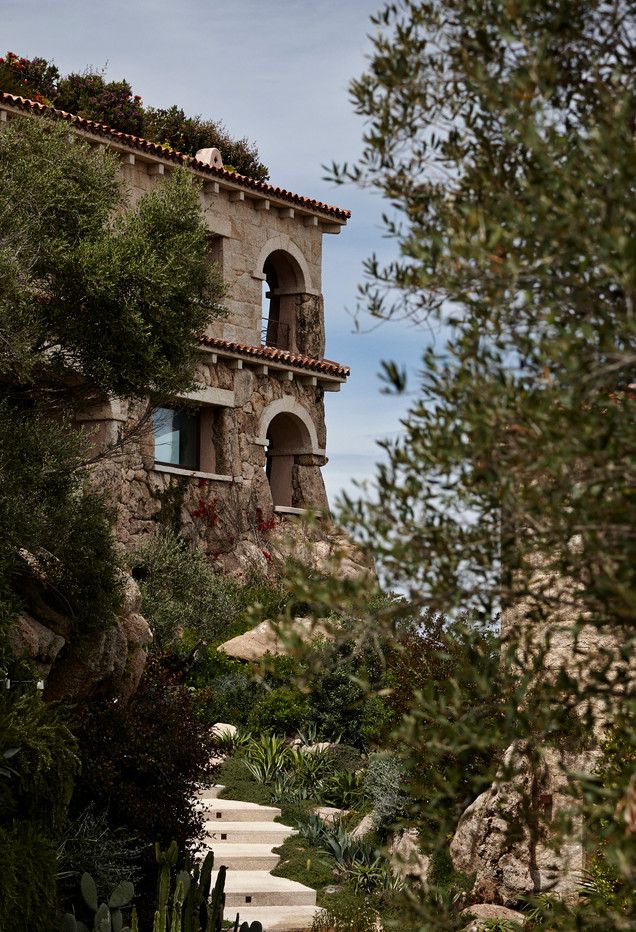 Interior photography, luxury home, Sardinia