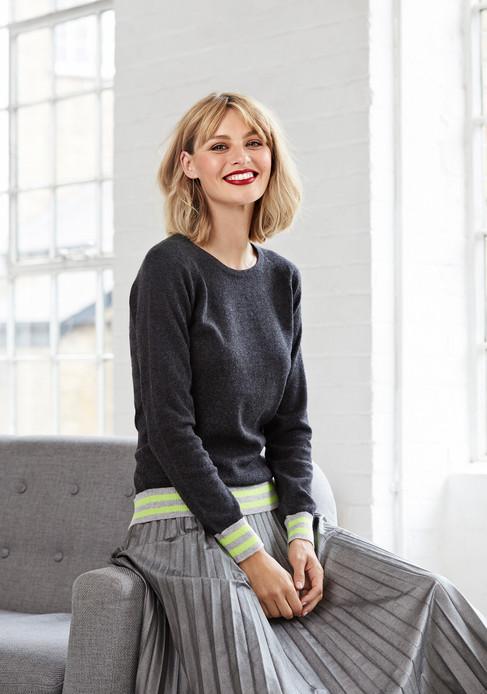 Cove cashmere knitwear, fashion photography