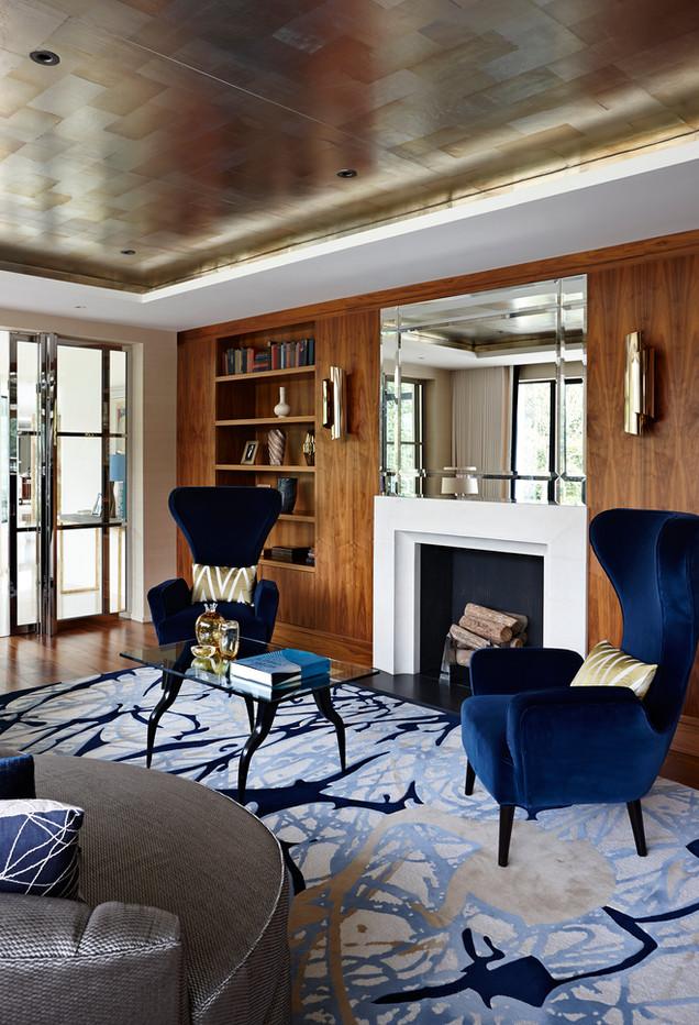 Interior photography, luxury home, England
