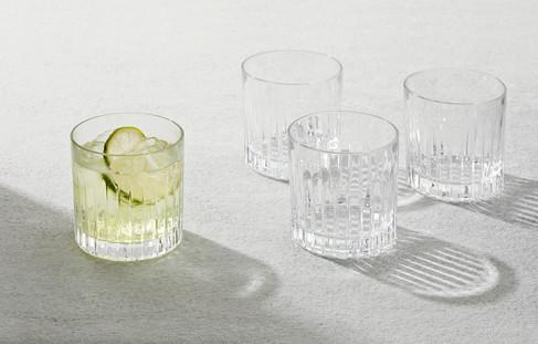 Drinks glasses, food photographer Chrsitina Bull