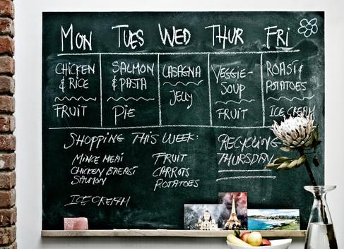Lifestyle photography, food board, black board, nordic sugar, christina Bull