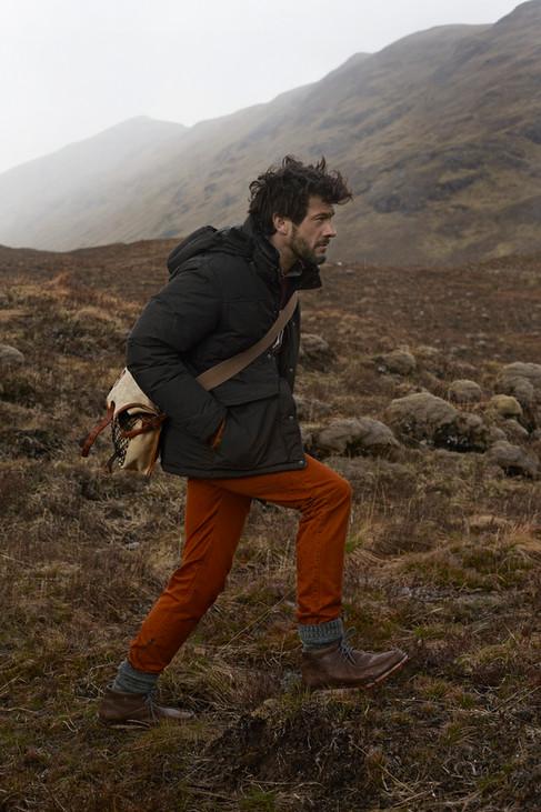 ison mens fashion, outdoors fashion, mountains, scotland, Photographer Christina Bull